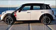 The car fender Side Scuttles Trim Decor Decal Sticker For Mini Cooper R60 R61
