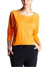Reebok Langarmshirt Gr.XS,S,M NEU Damen Gelb Shirt Bluse Stretch