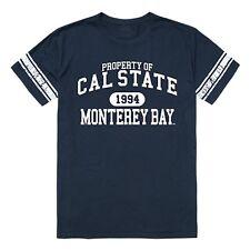 Cal St Monterey Bay University Otters NCAA Property Football T-Shirt