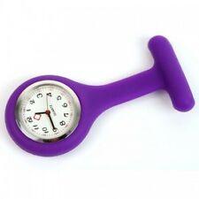 Enfermera Reloj Fashion Silicona Broche túnica fob Relojes (control de la infección)