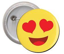 Spilla Calamita pins badge SMILE LOVE amore emoticon frigo frigorifero regalo