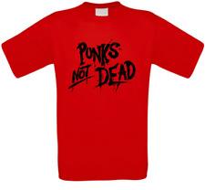 Punks not Dead Anarchy Anarchie Revolution T-Shirt alle Größen NEU