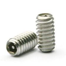 """Tamper Proof Socket Set Grub Screw Stainless Steel Security Screws - 3/8""""-16"""