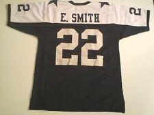 UNSIGNED CUSTOM Sewn Stitched Emmitt Smith Thanksgiving Jersey - M, L, XL, 2XL