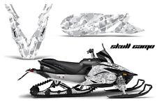 YAMAHA APEX GRAPHIC KIT AMR RACING SNOWMOBILE SLED WRAP DECAL 12-13 SKULL CAMO W
