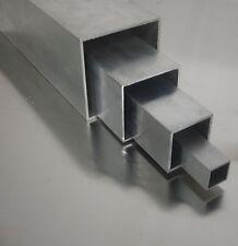 tubes carrés en aluminium 80x80x2mm almgsi05 PROFIL 6060 creux carré