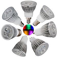 110/220V Dimmable LED Spotlight GU10/MR16/E27/E14/E12/B15/GU5.3 9W 12W 15W Bulbs