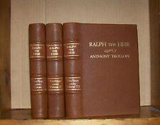 Ralph the Heir. Anthony Trollope. 3 vol. 1871. 1st ed.