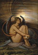 Elihu Vedder: Soul in Bondage. Art Print/Poster (004591)