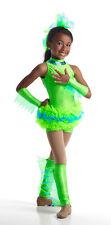 Frog Dinosaur Ballet Tutu Dance Jazz Costume  Child & Adult