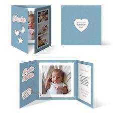 Geburtskarten Babykarten Dankeskarten Geburt Mädchen Junge Sonne Mond und Sterne