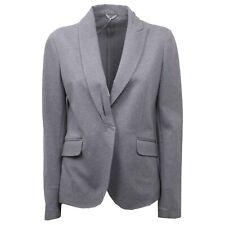 C0286 giacca donna BRUNELLO CUCINELLI grigio jacket woman