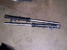 kawasaki zx600d zx6 ninja zx600 front forks fork tubes set shocks 600 91 92 93