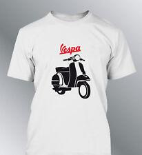 Tee shirt personnalise Vespa homme M L XL youngtimer vintage cyclomoteur scooter