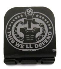 Drill Sergeant Badge Laser Etched Aluminum Hat Clip Brim-it