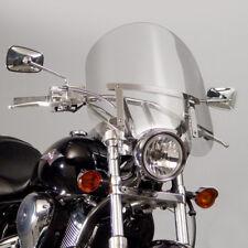 """Yamaha XV 535 Virago XV535 - NC125 17"""" Clear Windshield w/Chrome Hardware Kit"""