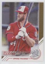 2017 Topps Salute #S-110 Bryce Harper Washington Nationals Baseball Card