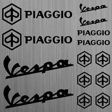 PIAGGIO Vespa aufkleber sticker decal roller scooter 14 Stücke Pieces