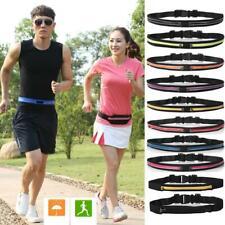 Dual Pocket Running Belts Phone Pouch Waist Bag Sports Travel Fanny Pack Outdoor