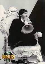 Paul McCartney with Megaphone --- Beatles Trading Card