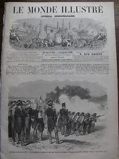 MONDE ILLUSTRE 1868 N 597 LE CAMP DE CHALONS EN 1868