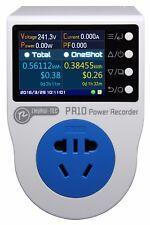 PR10-A 10A Plug Power watt meter/ socket /energy meter/ kwh/ electricity meter