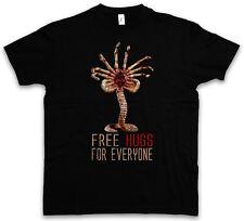 FREE HUGS FOR EVERYONE T-SHIRT - Facehugger Prometheus Weyland Fun Alien T-Shirt