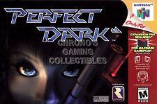 RGC Huge Poster - Perfect Dark 64 Nintendo 64 N64 BOX ART - N64037