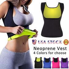 Women Body Hot Vest Slimming Redu Vest Shirt Underbust Corset Sauna Shaper Cami