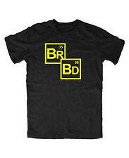 Breaking Bad pariodic t-shirt Fun culto Cult serie Walter White heisenerg