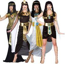 Vestido de Disfraz de Princesa Egipcia Reina Cleopatra Traje de Disfraz para mujer Nilo XS-XL