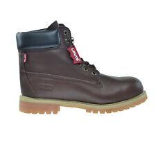 Levi's Harrison LE Men's Water Resistant Nubuck Boots Brown 516714-01b