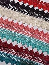 2 Yard Beautiful embroidered pattern lace trimming ribbon Net Wedding dress