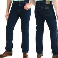 Wrangler Texas blueblack-Denim Gerade Jeans-Herren Hose OHNE STRETCH NEU