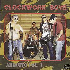 "CLOCKWORK BOYS ""Arquivo vol1"" CD ANTISEEN ROSE TATTOO RAMONES"