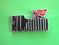 1974 - 1985  El CAMINO block letters - hat pin , tie tac , lapel pin , hatpin