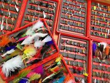 PESCA a mosca rogans GADGET Taglia 6-10 confezione da sei Trota di lago Saltwater MOSCHE #84B