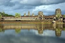 ANGKOR WAT GLOSSY POSTER PICTURE PHOTO hindu water cambodia vishnu buddhist 314