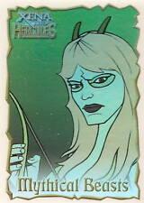 Hercules Xena B3 Mythical Beasts Golden Hind Czop insert trading card