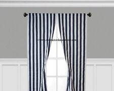 Navy Blue Curtain Panels Window Treatments Drapery Navy Stripe Curtains Drapes