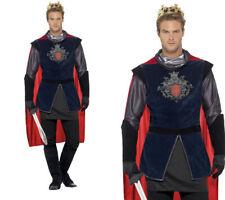 RE Artù Uomo Medievale Re Costume Taglie M-XL