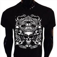 Motor Club Since 1976 Mens T-Shirt S-5XL Biker Rider Skull Grunge MC1