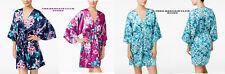 Linea Donatella Womens Robe Amour Bridesmaid Charmeuse Wrap Robe S/M