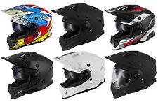 vcan V331 Dual Sport Enduro casque moto Off- sur route MX QUAD
