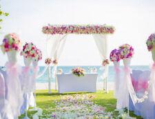 Valentine's Day Vinyl Backdrop Beach Wedding Photography Background Studio Prop