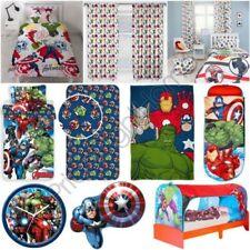 Officiel Avengers Marvel Chambre - Couettes Rideaux Coussin Couverture Horloge &