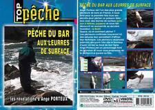 DVD Pêche du bar aux leurres de surface : Les révélations avec Ange Porteux