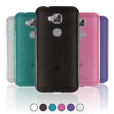 Coque en Silicone Huawei G8 - transparent  + films de protection