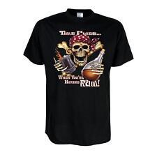Fun T-Shirt Time flies when you´re having Rum, Funshirt S - 6XL (ADS00942)