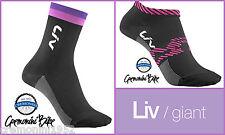 GIANT LIV calzini bici ciclismo socks calze cyclist bike mtb donna rosa woman